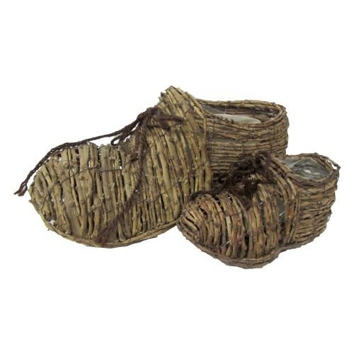 Башмак плетенный (набор 2шт) 650р