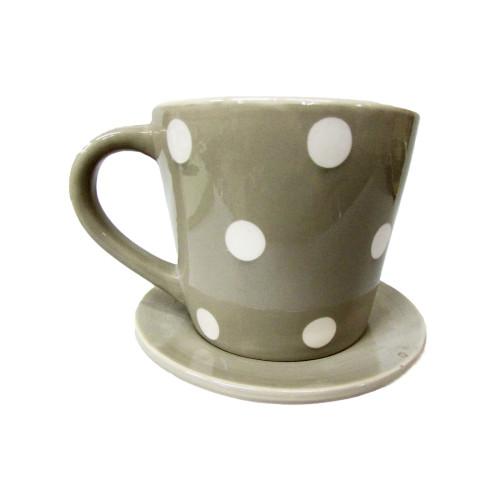 Кашпо фарфор. чашка 395 руб