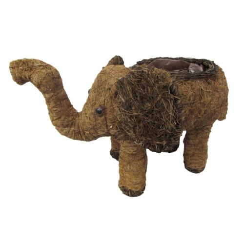 Слон плетенный с полиэт. вкладышем 1080р