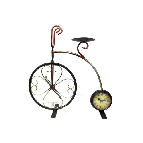 Часы велосипед (метал.) 780 руб